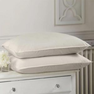 Luxurious organic cot pillow for the ultimate natural sleep