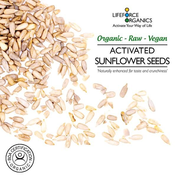 Activated organic sunflower seeds - truly satisfying snack 2