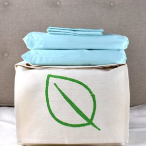 GOTS certified 100% organic cotton bedding sets -  luxurious 300 thread count