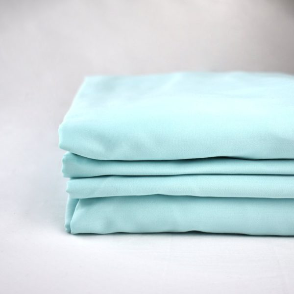 Aquamarine organic cotton bedding set 2