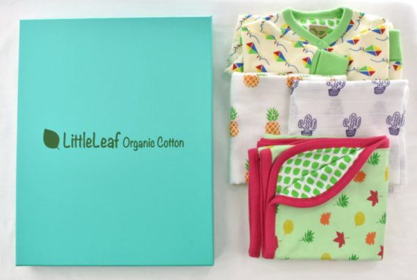Organic Cotton Baby Gift Box 2