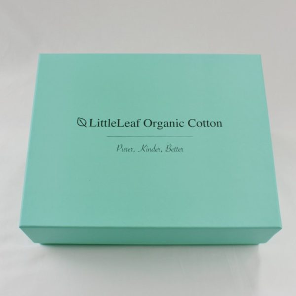 Large organic cotton baby gift box 1