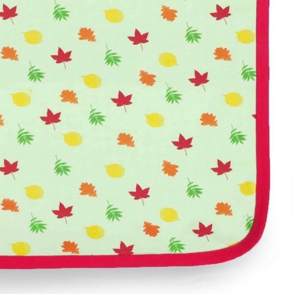 Leaves Baby Organic Blanket 3