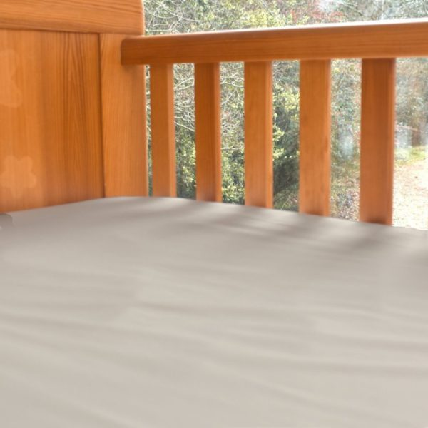 Natural colour cot bed sheet 2
