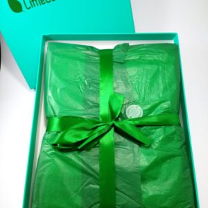 Finest organic cotton bedding gift box - feel the difference