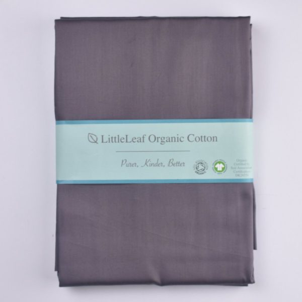 Chocolate plum organic cotton bedding set 5