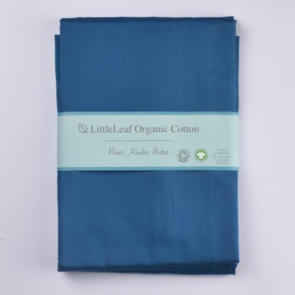 Oxford pillowcase -ocean blue 1