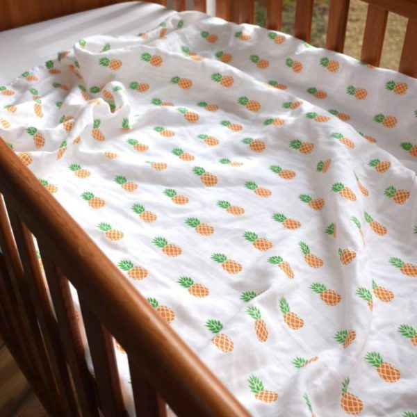 100% Premium Organic Cotton Swaddle
