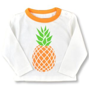 Pineapple organic cotton t-shirt