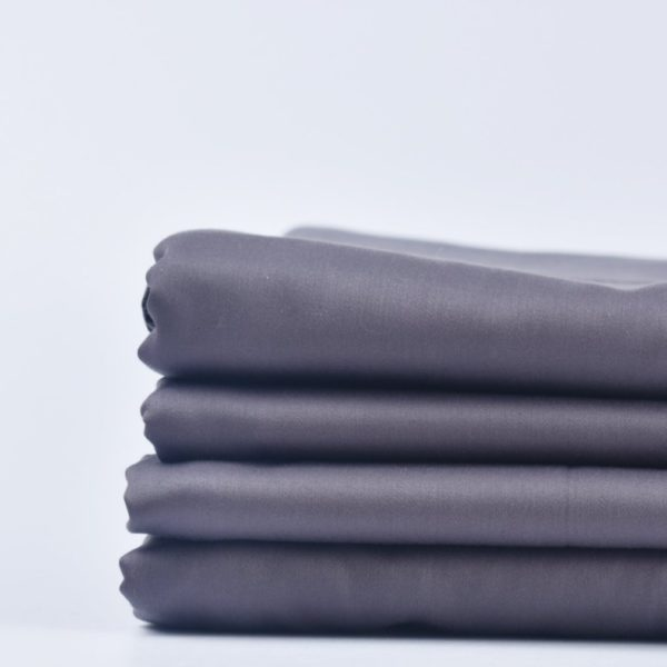 Fitted sheet - chocolate plum 1