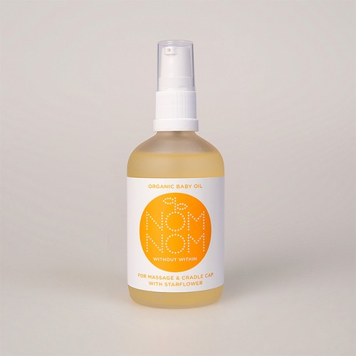 Organic Baby Oil With Starflower