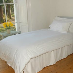 Ethically sourced 100% organic cotton duvet set