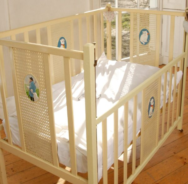 Organic fitted sheets - cot & cot Bed 4