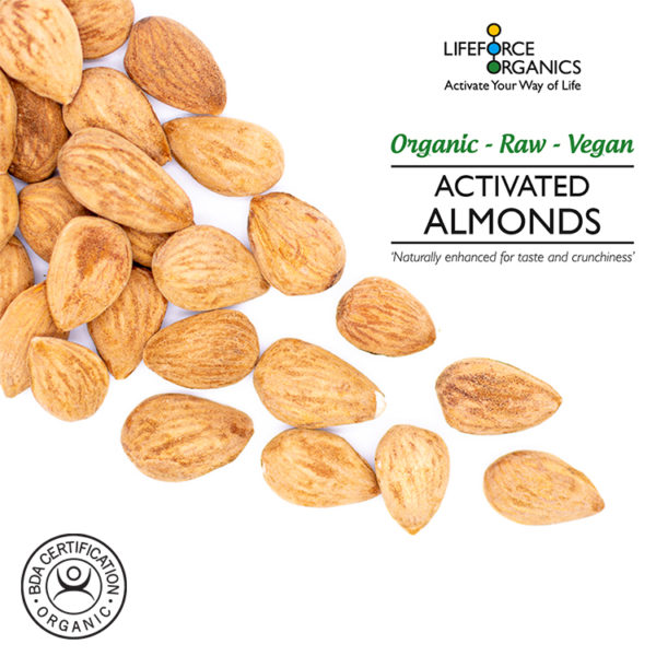 Activated raw organic almonds - 100% pure 1