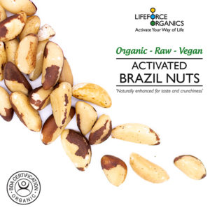 Remarkably tasty activated organic brazil nuts.