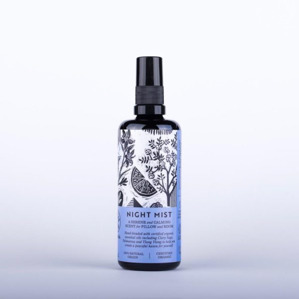 Night Mist - A Serene And Calming Fragrance For Pillow And Room