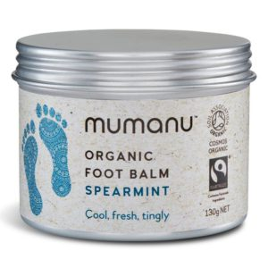 Organic Fairtrade Foot Balm – Spearmint
