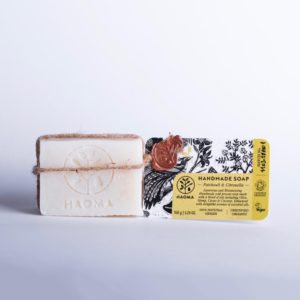 luxurious and moisturising soap