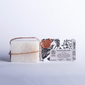 Fragrance free organic soap, gentle sensitive skin