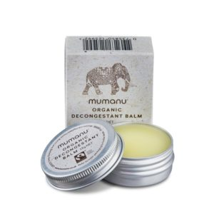 Organic Fairtrade Decongestant Balm