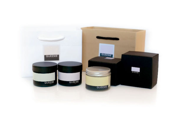 Organic skincare gift set for dry skin