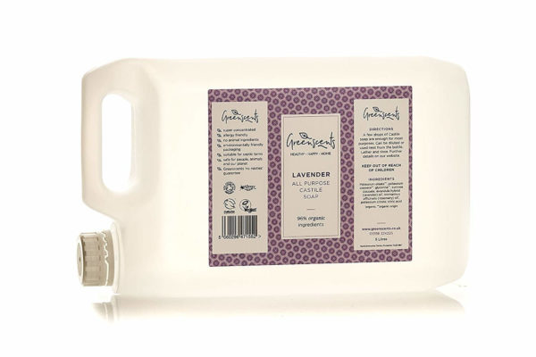 Greenscents Natural Organic Cleaning Products - Organic Castile Soap