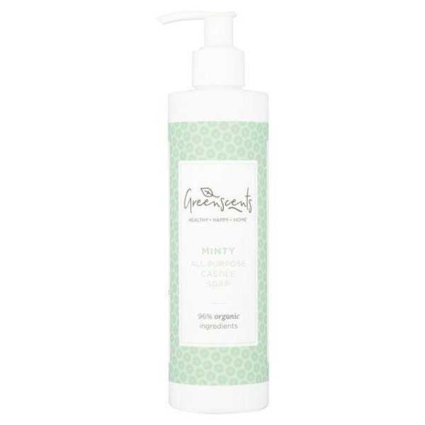 Greenscents Natural Organic Cleaning Products - organic soap