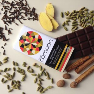 Chai Dark Chocolate (77 g) Organic vegan choclate