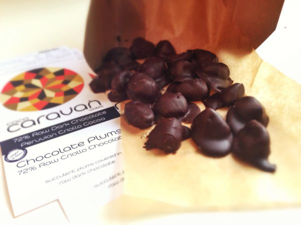 Organic - Vegan Chocolate Plums