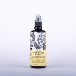 Organic Foot and Shoe Spray - Natural Antibacterial Protection