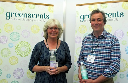 A passion for an organic lifestyle and a love of fragrance meant that Peter and Christina Hawkes took action and greenscents was born