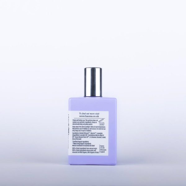 Natural & perfume organic Lavender Organic Single Note Eau de Parfum
