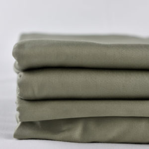 GOT Certified Organic Fitted Sheet - Olive Green