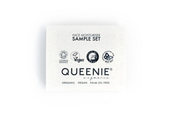 100% organic moisturiser sample set