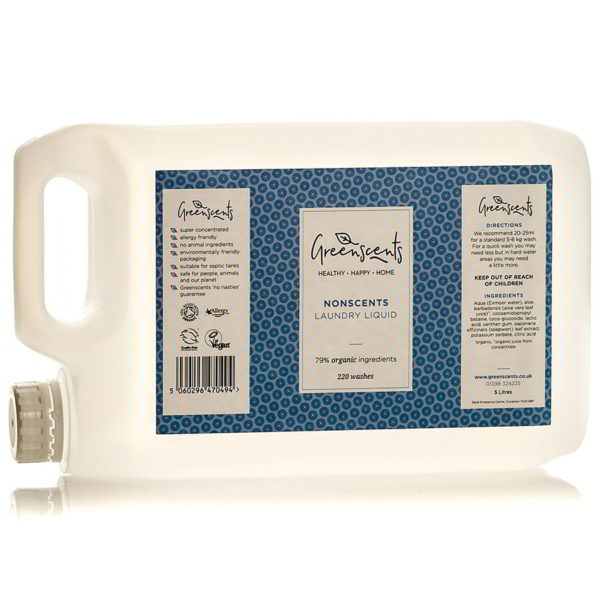 Concentrated Organic Laundry Liquid