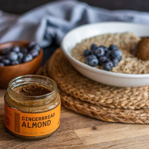 Organic gingerbread almond butter 2