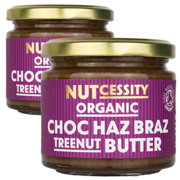 Raw Cacao, Hazelnuts &Amp; Brazil Nuts Butter - Quality Taste And Nutrition In Every Bite