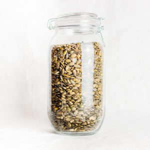 Activated organic pumpkin seeds : packed with protein