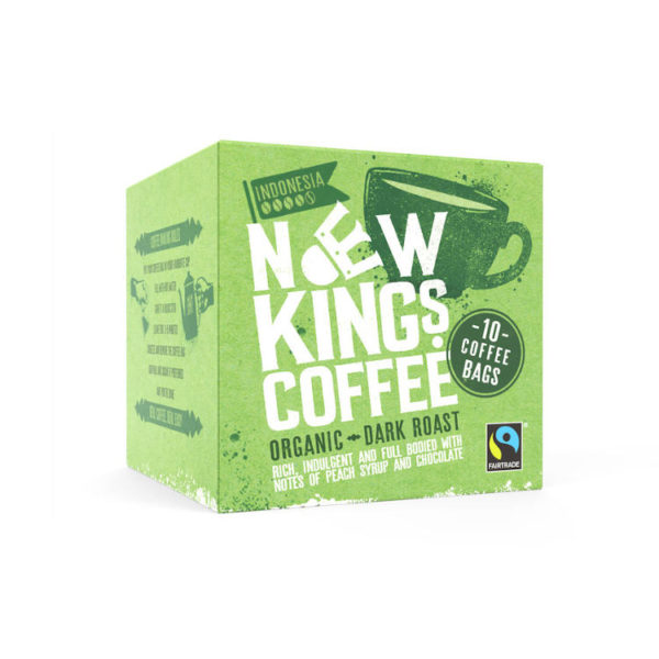 Ethically sourced organic coffee bags - gourmet quality coffee in every cup