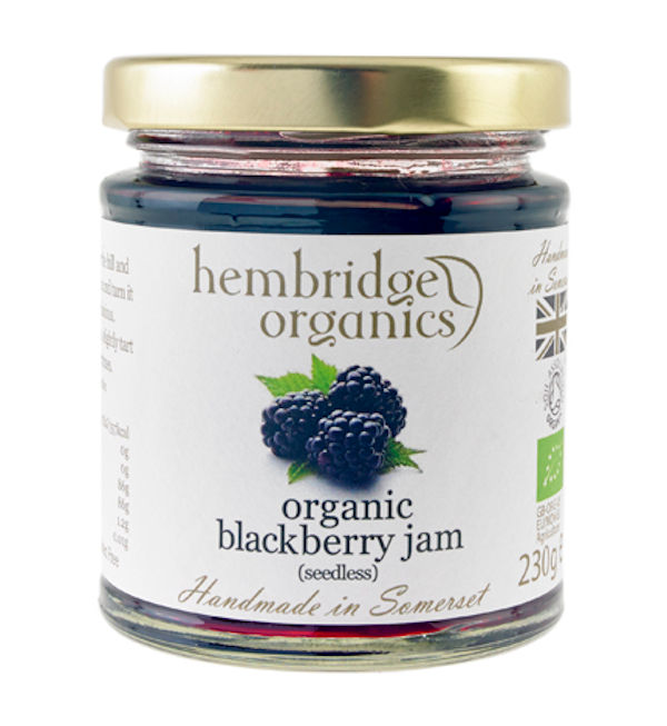 Vibrant And Delightful Organic Blackberry Jam