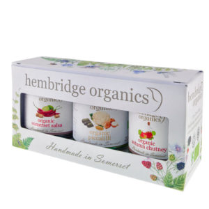 Great punchy flavours - organic chutney gift box