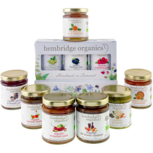 Vibrant and delightful organic preserves gift box