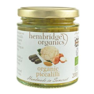 Explosion of flavours- organic picalilli