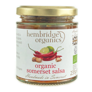 Great punchy flavours - organic somerset salsa
