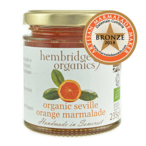 Zesty, fruity and vibrant - organic orange marmalade