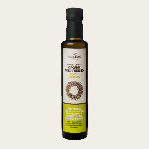 Cold Pressed Organic Hemp Seed Oil - Nutritious &Amp; Delicious