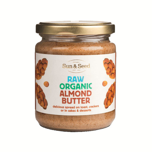 Organic raw almond butter - absolutely delicious