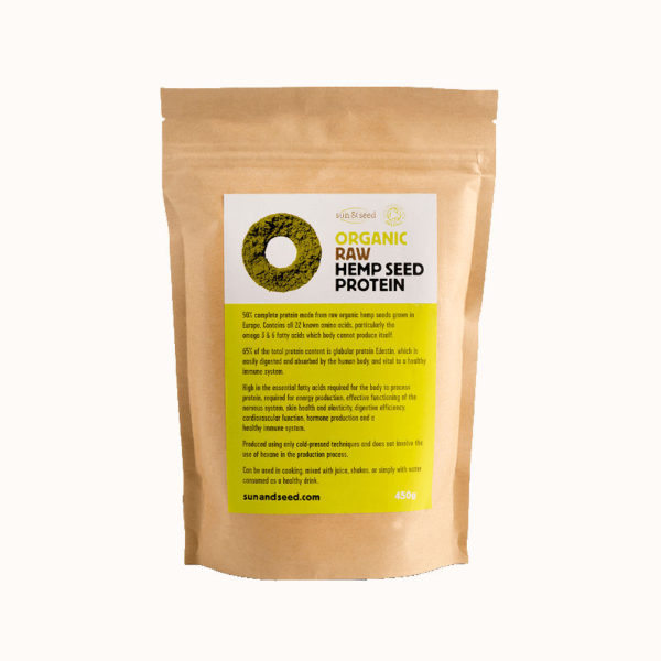 Organic Raw Hemp Protein - Highly Nutritious