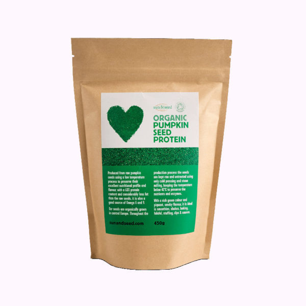 Organic Pumpkin Seed Protein Powder - Highly Nutritious