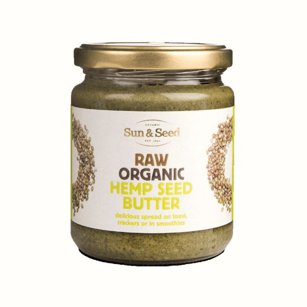 Organic Raw Hemp Seed Butter - Delicious And Nutritious